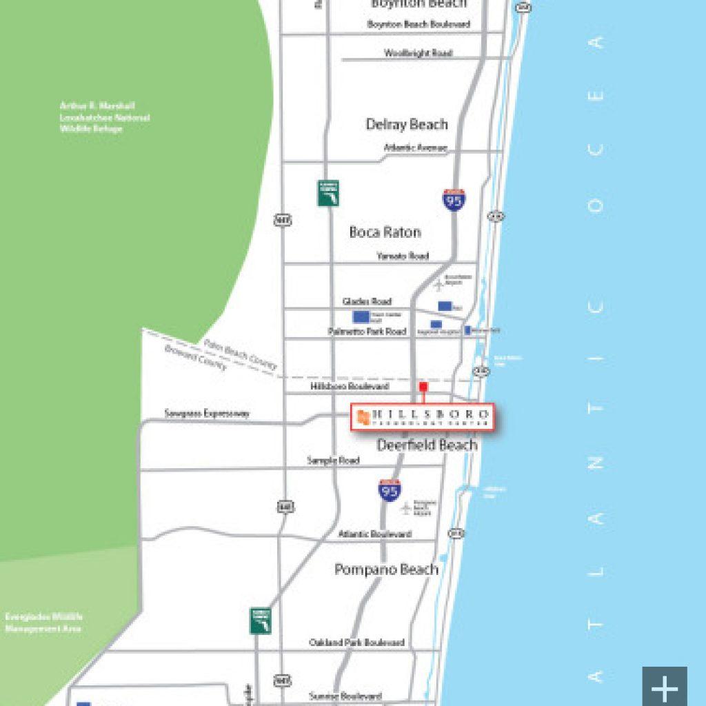 Hillsboro Technology Center Hillsboro Technology Center - Florida map i 95